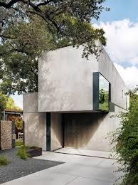 Concrete By Design Austin Alterstudio Designs Austin Residence Around Existing Oak Tree