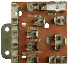 frequently asked questions 1956 chevrolet fuse block fuse panel is an example of a fuse block that was not originally part of the wiring harness but rather a separate component