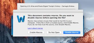 Mircosoft Word For Mac New Mac Malware Targets Microsoft Word Users