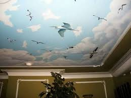 ceiling painting ideasCeiling Painting Ideas Great Tray Ceiling Design Pictures Remodel