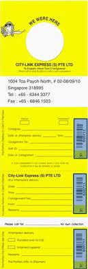 City Link Express Singapore