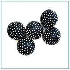 Small Decorative Balls Gorgeous Decorative Ceramic Balls Black And White Decorative Balls Black And