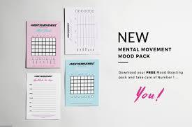 Free Printable Mood Charts By Mental Movement Magazine
