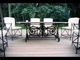 Wrought iron outdoor furniture USA Cast iron Outdoor furniture USA
