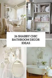 Shabby Chic Bathroom Best 25 Chic Bathrooms Ideas On Pinterest Neutral Bathroom