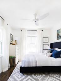 small bedroom ceiling fan best size for with pleasant master using light blue bedding wonderful ideas