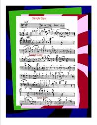 Big Band Arrangement Music Chart Just In Time Pdf