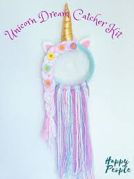 Dream Catcher Kits For Kids Gorgeous Make Your Own Unicorn Dream Catcher Kit Kids Unicorn Dreamcatcher