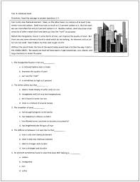 reading tests for students in grades through  these 10 reading tests feature high interest passages for comprehension practice