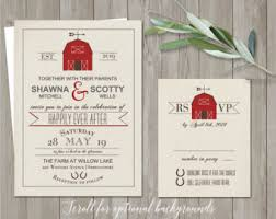 notedoccasions unique and custom wedding by notedoccasions Rustic Barn Wedding Invitations Etsy printable barn wedding invitation rustic barn wedding invitations country wedding rustic wedding invite rsvp digital template barn wedding invitations etsy