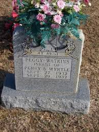 Peggy Watkins (1932-1932) - Find A Grave Memorial
