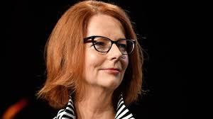 Former Prime Minister Julia Gillard ...