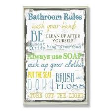 bath wall signs wall decor the
