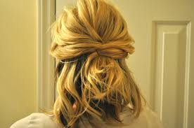 Wedding Half Up Hairstyles Half Up Hairstyles For Short Hair Wedding Easy Casual Hairstyles