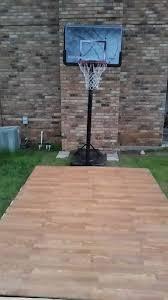 diy backyard basketball court. Simple Diy Diy Pallet Basketball Court Diy How To Outdoor Furniture Pallet  Repurposing Upcycling Throughout Diy Backyard Basketball Court E