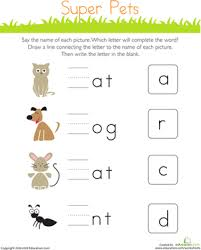 Cvc worksheets for teaching and learning in the classroom or at home. Cvc Words Reading And Writing Education Com