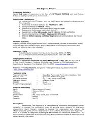 Database Test Engineer Sample Resume Ajrhinestonejewelry Com