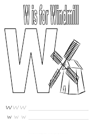 Letter W Worksheets for Kindergarten - Preschool and Kindergarten