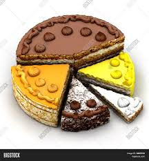Pie Chart Different Image Photo Free Trial Bigstock