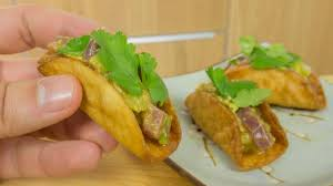 Sushi Taco Tuna Ceviche Recipe - YouTube