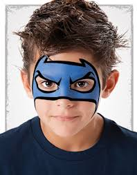 Face Painting Superheroes Design 10 Easy Face Painting Ideas Face Painting Designs