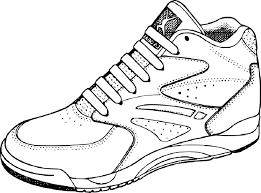 Coloriage Chaussure De Basketball Imprimer Coloriage Sur Le Basket L