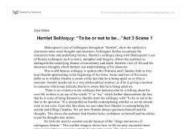 Critical Analysis Essay Example Paper Hamlet Analysis Essay Critical Analysis Of Hamlet By William