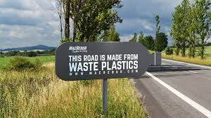 Image result for plastic road