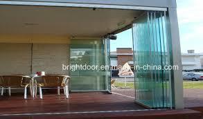 frameless stacking doors frameless sliding glass doors glass door design