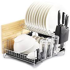 PremiumRacks Professional Dish Rack - 304 Stainless Steel - Fully  Customizable - Microfiber Mat Included -