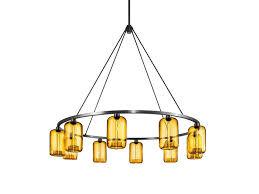 indirect light metal chandelier spark 48 by niche modern design jeremy pyles