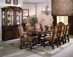 dining room tables with upholstered chairs. neo renaissance formal dining room set 108\ tables with upholstered chairs b