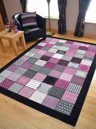 collection in plum runner rug details about black grey and plum purple pink hall runners small