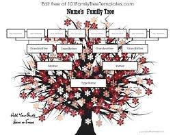 Making A Family Tree For Free Family Tree Template With Photos Allthingsproperty Info