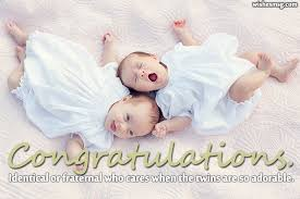 Congratulation On A Baby Twin Baby Congratulation Messages Wishes For Twins Wishesmsg