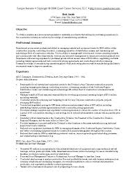 Resume Purchasing Procurement Resume Objective Paknts Com
