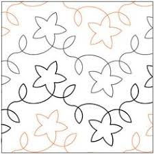 Free Continuous Line Quilting Patterns   Free Pantograph Patterns ... & Star Light quilting pantograph pattern by Lorien Quilting Adamdwight.com