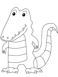 Small Picture Crocodile Coloring Pages Indo Pacific Saltwater Pagejpg Coloring