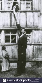 Albert Johan Kramer, The Dutch Giant Stock Photo - Alamy