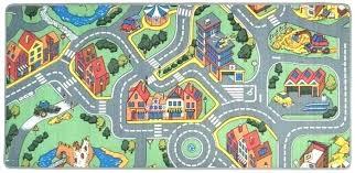 childrens carpet roadway carpet road rug play mat toy car large matchbox kids hot wheels roadway