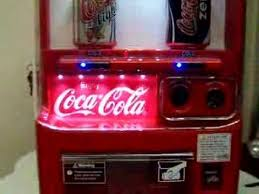 Koolatron Mini Vending Machine New Coca Cola Selling Machine YouTube