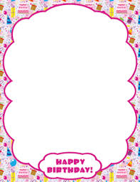 girly borders for microsoft word free printables at museprintables com page 39