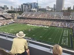 Bobby Dodd Stadium Section 202 Home Of Georgia Tech Yellow