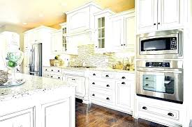 kitchen backsplash white cabinets brown countertop. Backsplash For White Countertops Kitchen Cabinets Brown And Tile With Countertop C