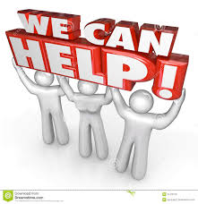 We Can Help Customer Service Support Helpers Stock