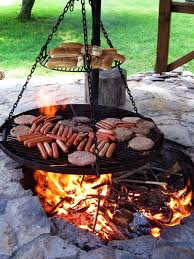 old fashioned bbq pit