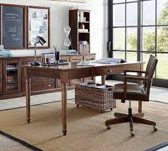 Office writing table Cyber Cafe Printers Writing Desk Pottery Barn Home Office Desks Computer Desks Writing Desks Pottery Barn