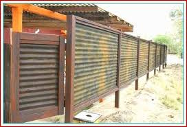 corrugated metal fence cost fresh corrugated metal fence privacy cost panels of corrugated metal fence