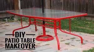 diy patio table. Delighful Table DIY Patio Table Makeover In Diy P