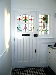 front door stained glass inserts front doors canada